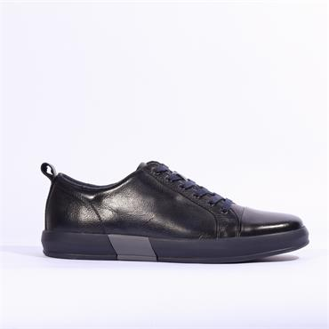 6th Sense DV1 Leather Trainer - Navy